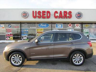 2012 BMW X3 xDrive28i for sale VIN: 5UXWX5C59CL724782
