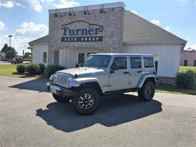 2016 Jeep Wrangler Sahara for sale VIN: 1C4BJWEG6GL123017
