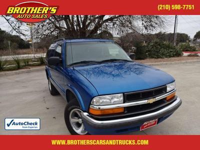 2001 Chevrolet Blazer LS for sale VIN: 1GNCS18W91K130622