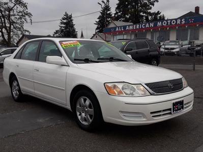 2001 Toyota Avalon XL for sale VIN: 4T1BF28B61U154727