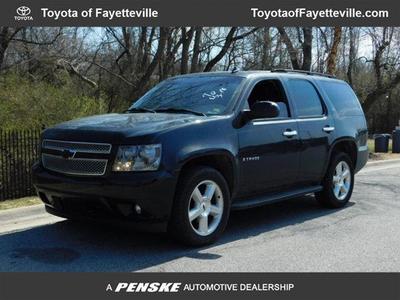 2007 Chevrolet Tahoe LTZ for sale VIN: 1GNFK13077R210551