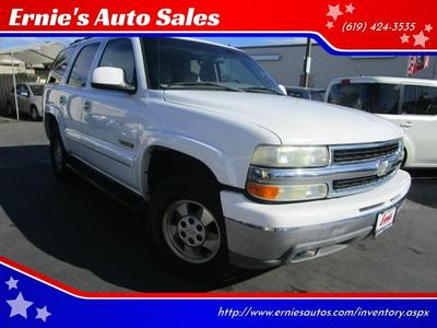 Chevrolet Tahoe 2002 for Sale in Chula Vista, CA