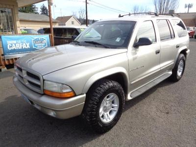 2001 Dodge Durango SLT for sale VIN: 1B4HS28N41F531593