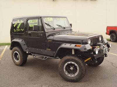 1995 Jeep Wrangler S for sale VIN: 1J4FY19P1SP210278