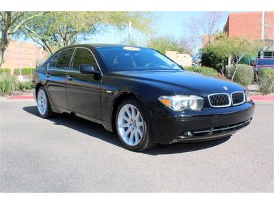 2005 BMW 745 i for sale VIN: WBAGL63555DP76492