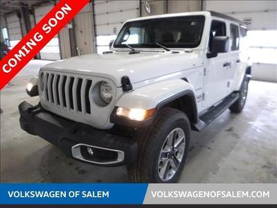 2018 Jeep Wrangler Unlimited Sahara for sale VIN: 1C4HJXEG4JW233487