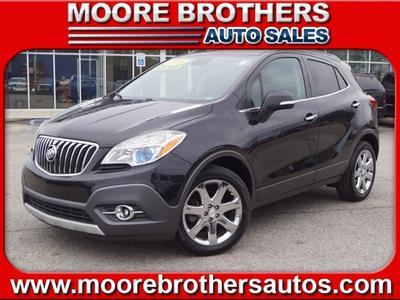 2014 Buick Encore Leather for sale VIN: KL4CJCSB5EB596979
