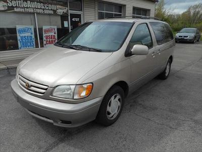 2002 Toyota Sienna LE for sale VIN: 4T3ZF13CX2U470648