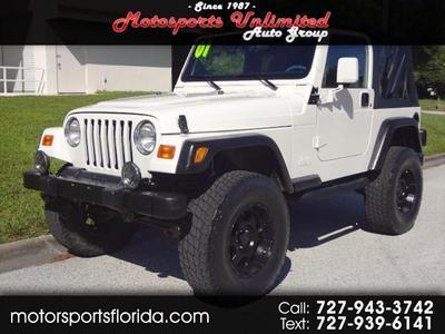 Jeep Wrangler 2001 for Sale in Palm Harbor, FL