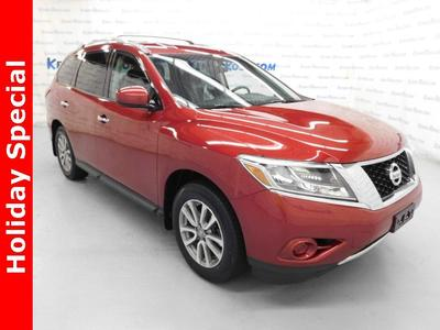 2013 Nissan Pathfinder SV for sale VIN: 5N1AR2MM8DC604401