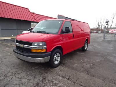2012 Chevrolet Express 2500 Work Van for sale VIN: 1GCWGFCA7C1143328