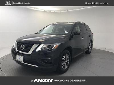 2017 Nissan Pathfinder S for sale VIN: 5N1DR2MN2HC672270