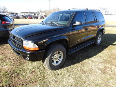 2003 Dodge Durango SLT for sale VIN: 1D4HS48N63F565779