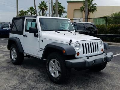 2013 Jeep Wrangler Sport for sale VIN: 1C4GJWAG8DL538413