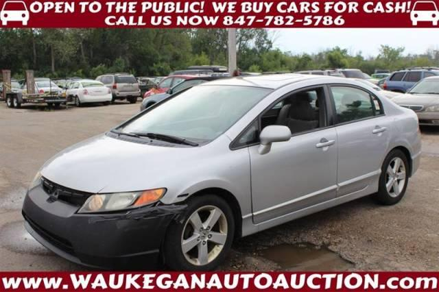 Honda Civic 2007 For Sale >> Used 2007 Honda Civic Ex Sedan In Waukegan Il Near 60085 1hgfa16897l106340 Auto Com