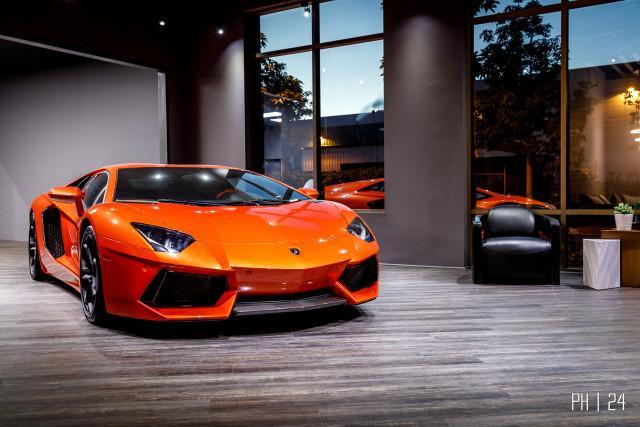 Used 2012 Lamborghini Aventador Lp700 4 Coupe In Laguna Hills