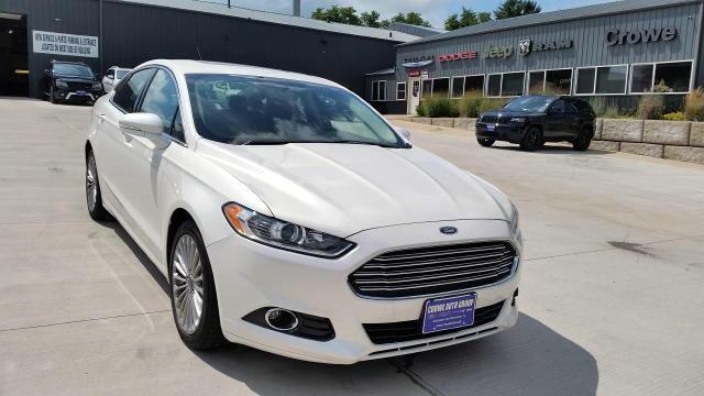 Used 2015 Ford Fusion Titanium Sedan In Kewanee Il Near 61443