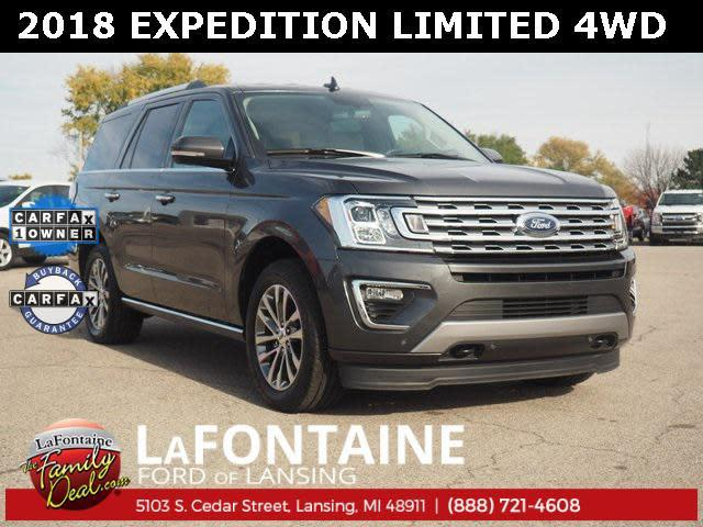 Lafontaine Ford Lansing >> Used 2018 Ford Expedition Limited Suv In Lansing Mi Near 48911 1fmju2at5jea24260 Auto Com
