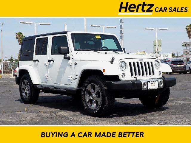 2018 Jeep Wrangler JK Unlimited a la venta en Costa Mesa, CA - Image 1