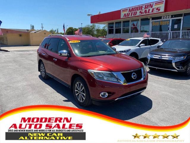 2014 Nissan Pathfinder for Sale in Hollywood, FL - Image 1