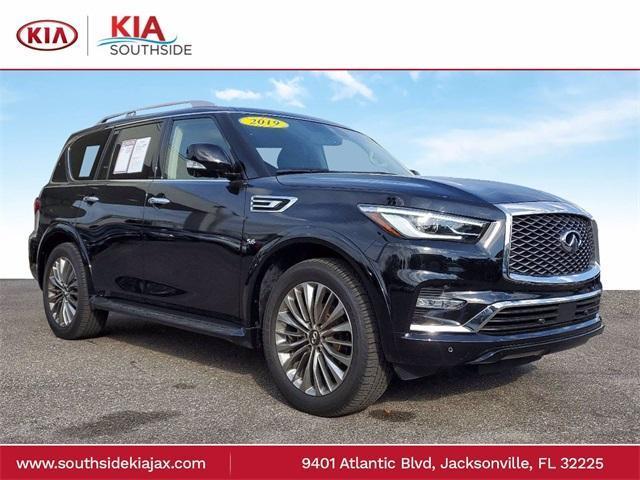 2019 INFINITI QX80 a la venta en Jacksonville, FL - Image 1