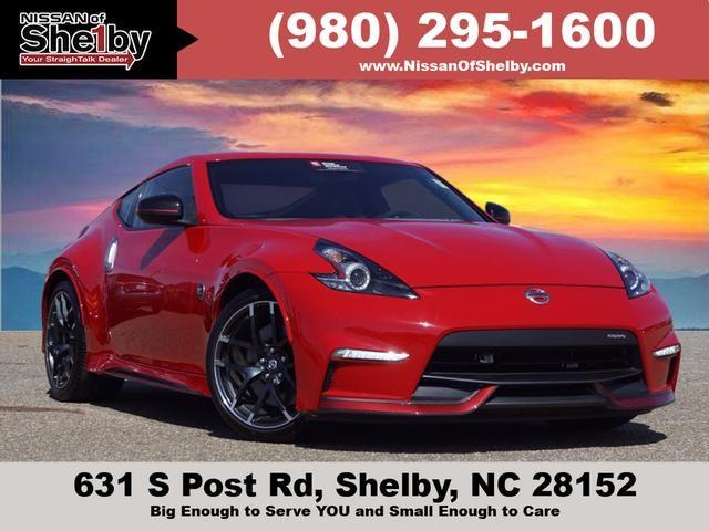 Nissan Of Shelby >> Used 2017 Nissan 370z Nismo Coupe In Shelby Nc Near 28152 Jn1az4eh9hm950235 Auto Com