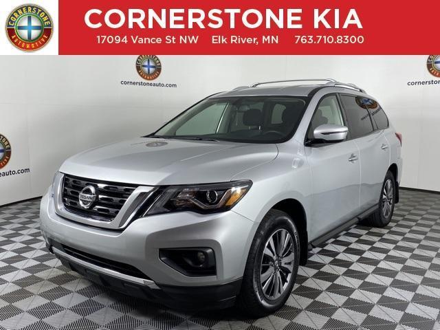 2018 Nissan Pathfinder a la venta en Elk River, MN - Image 1