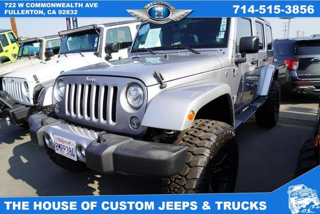 2017 Jeep Wrangler Unlimited for Sale in Fullerton, CA - Image 1