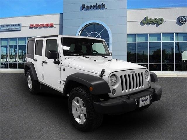 2018 Jeep Wrangler JK Unlimited for Sale in Fairfax, VA - Image 1
