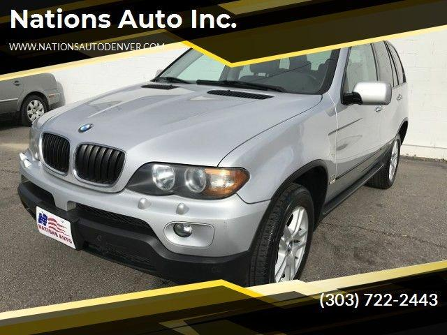 2005 BMW X5 for Sale in Denver, CO - Image 1