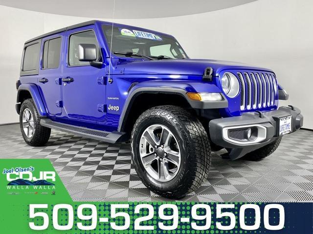 2020 Jeep Wrangler Unlimited a la venta en Walla Walla, WA - Image 1