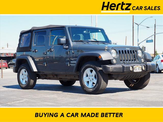 2018 Jeep Wrangler JK Unlimited a la venta en Anaheim, CA - Image 1