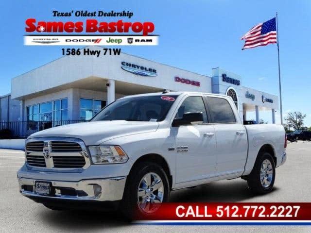 Sames Dodge Bastrop >> Used 2016 Ram 1500 Slt Crew Cab Pickup In Cedar Creek Tx Auto Com 3c6rr6lt8gg306043