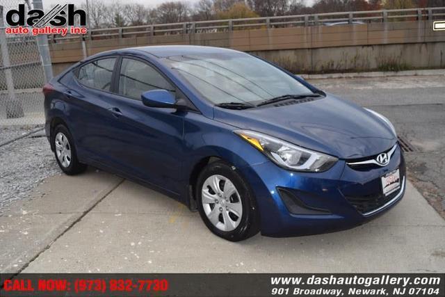2016 Hyundai Elantra a la venta en Newark, NJ - Image 1