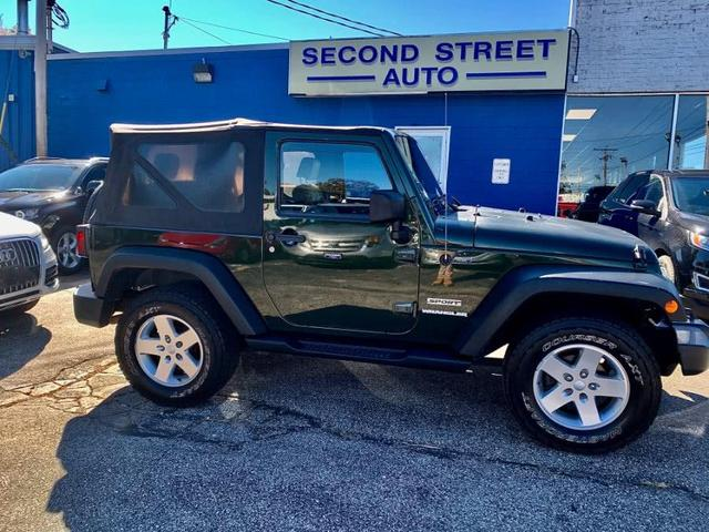2010 Jeep Wrangler for Sale in Manchester, NH - Image 1