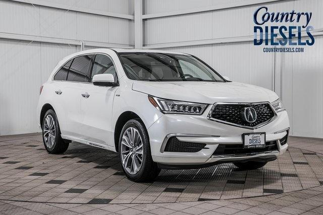 Used 2018 Acura Mdx Sport Hybrid 3 0l W Technology Package Suv In