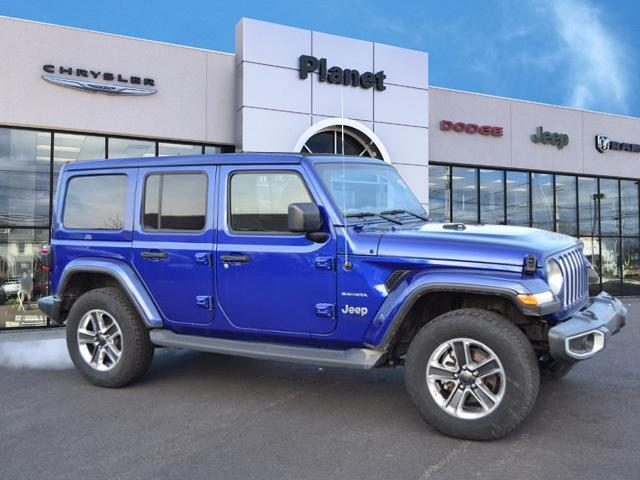 2020 Jeep Wrangler Unlimited for Sale in Franklin, MA - Image 1