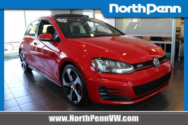 North Penn Volkswagen >> Used 2017 Volkswagen Golf Gti Se 4 Door Hatchback In Colmar Pa Auto Com 3vw447au5hm072835