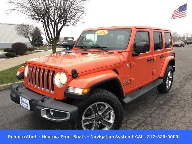 2018 Jeep Wrangler Unlimited for Sale in McCordsville, IN - Image 1