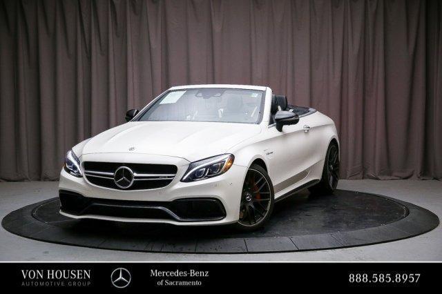 Mercedes Benz Of Sacramento >> Certified 2018 Mercedes Benz Amg C 63 S Convertible In Sacramento Ca Auto Com Wddwk8hbxjf635854
