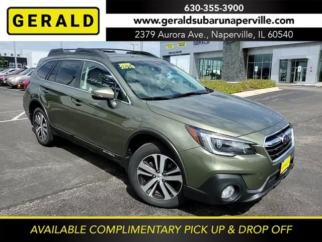 2018 Subaru Outback a la venta en Naperville, IL - Image 1