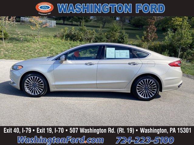 2017 Ford Fusion a la venta en Washington, PA - Image 1