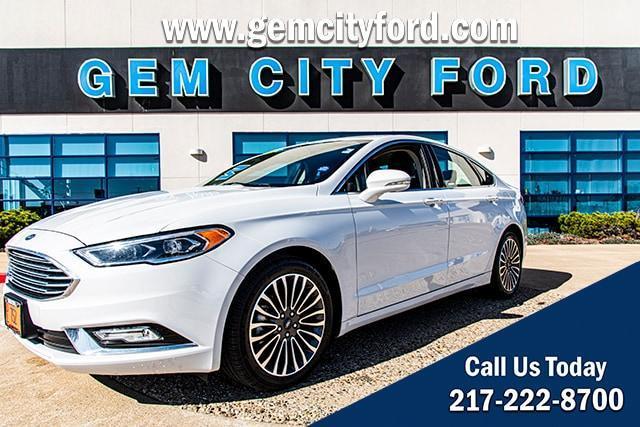 2017 Ford Fusion a la venta en Quincy, IL - Image 1