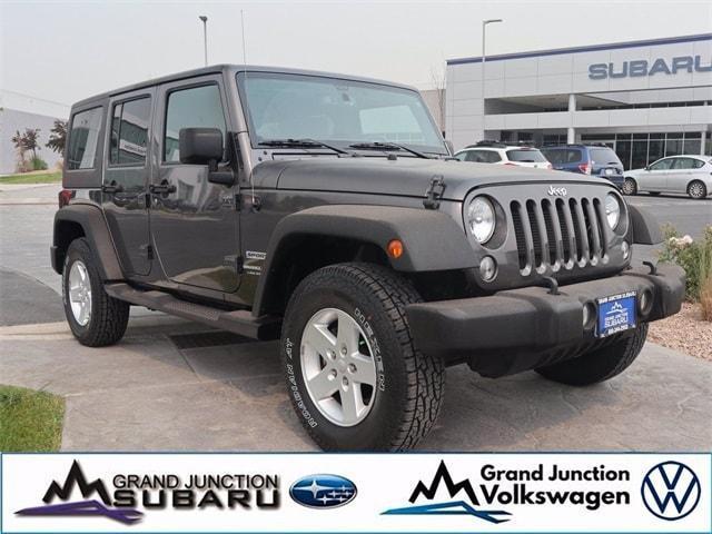 2018 Jeep Wrangler JK Unlimited a la venta en Grand Junction, CO - Image 1