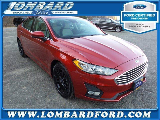 2020 Ford Fusion a la venta en Barkhamsted, CT - Image 1