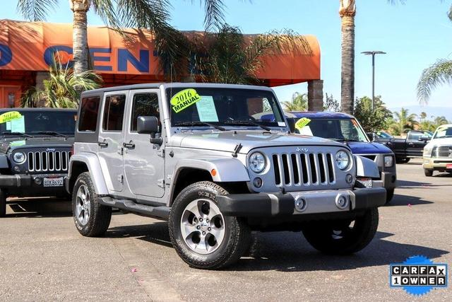 2016 Jeep Wrangler Unlimited for Sale in Fontana, CA - Image 1