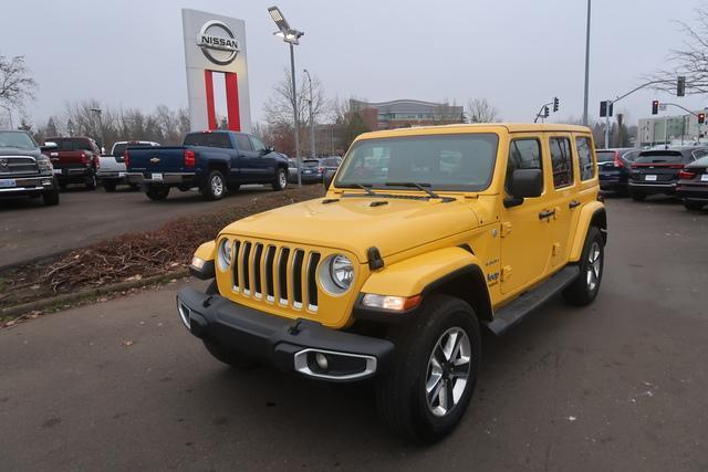 2020 Jeep Wrangler Unlimited a la venta en Eugene, OR - Image 1