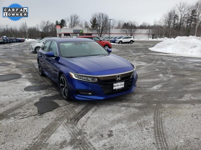 2018 Honda Accord a la venta en Williston, VT - Image 1