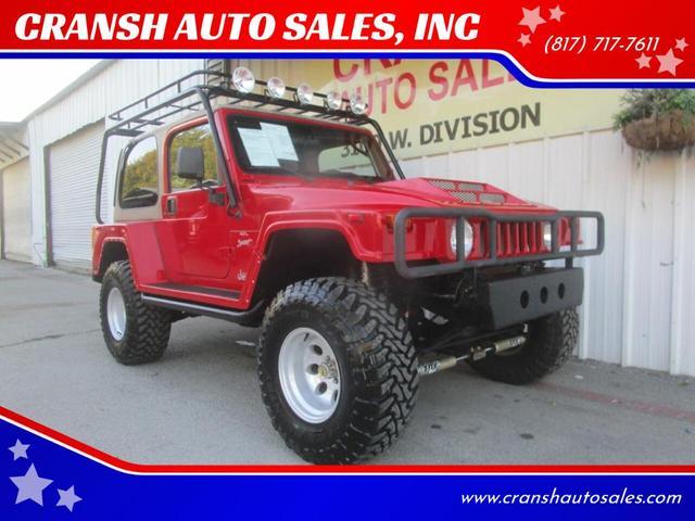 2001 Jeep Wrangler for Sale in Arlington, TX - Image 1