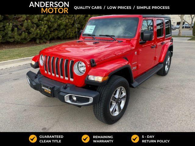 2020 Jeep Wrangler Unlimited for Sale in Salt Lake City, UT - Image 1